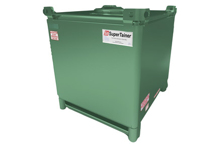 Double Wall Supertainer Steel IBC Totes