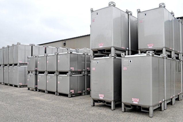 Steel IBC Totes and Containers