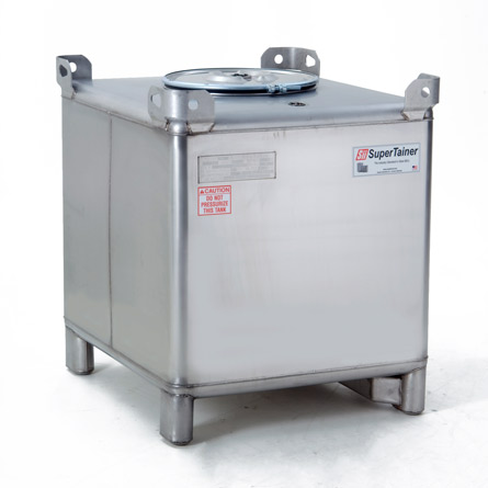 Supertainer Stainless Steel IBC Tote