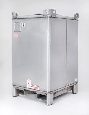 Supertainer Steel IBC Tote Tank