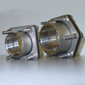 Double Flanged Fittings w/ SS Bolts